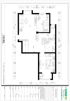 90平 二室一厅一厨一卫