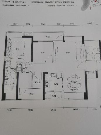 90.00㎡ 三室二厅一厨二卫 现代简约
