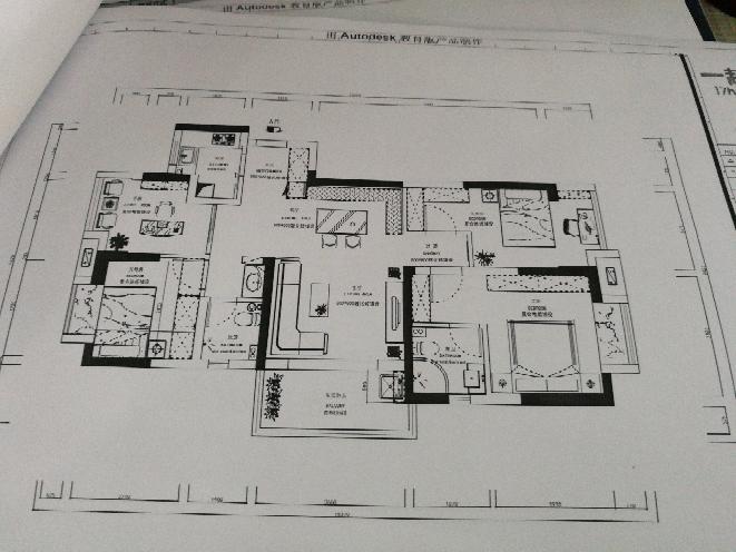 124.00㎡ 四室二厅一厨二卫 中式