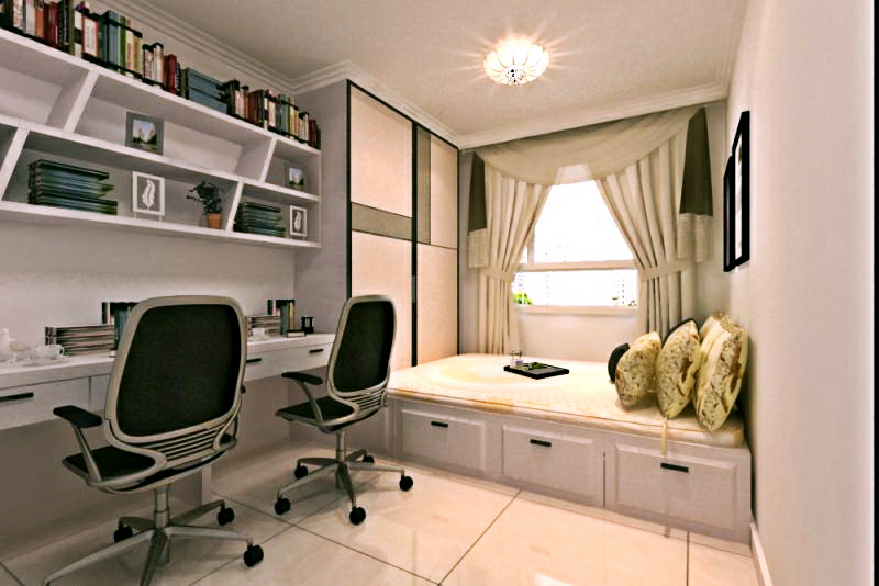 110平 三居室