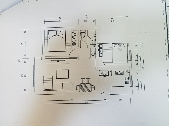 130.00㎡ 三室二厅一厨二卫 现代简约