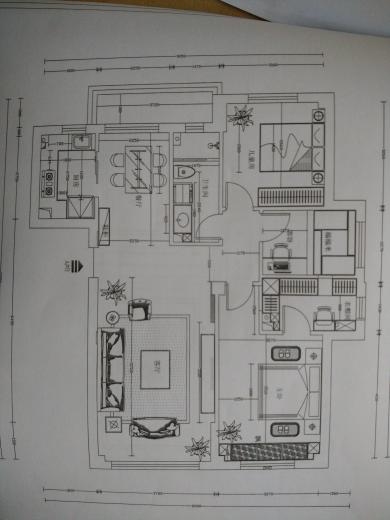 三室二厅一厨一卫平 三室二厅一厨一卫
