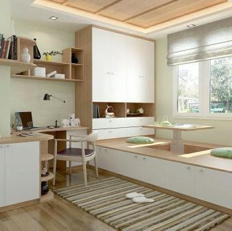 72.00㎡ 二室二厅一厨一卫 现代简约