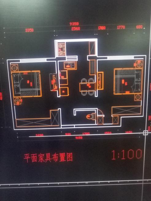 56平 二室0厅一厨一卫