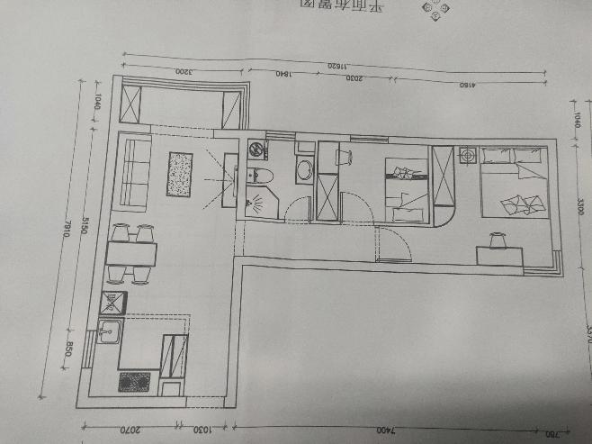 康惠園68.00㎡ 二室一廳一廚一衛